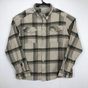 Mountain Hardwear Flannel Hiking Shirt Sz XL TG